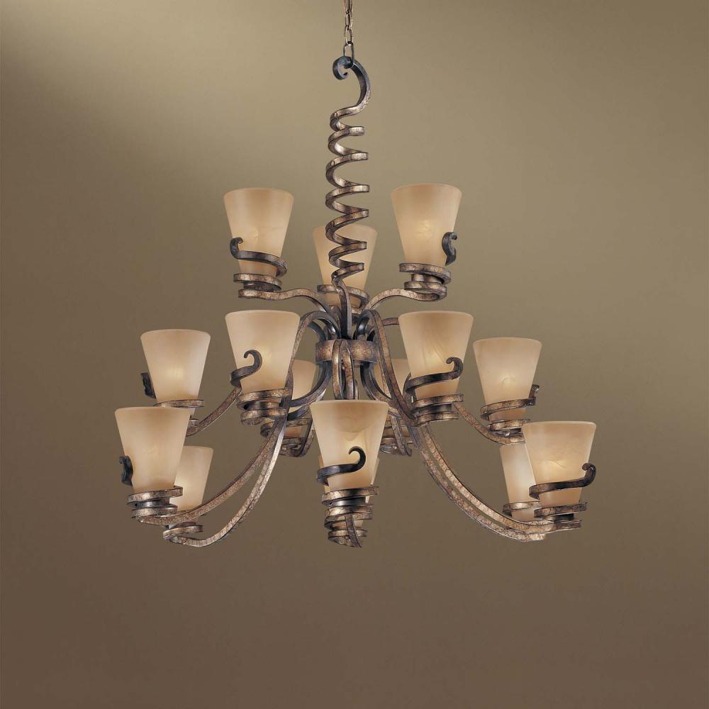 Fifteen Light Up Chandelier : 1769-211 | Lighting Depot
