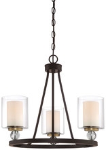 Minka-Lavery 3077-416 - 3 Light Chandelier
