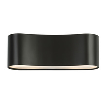 Sonneman 1726.32F - Two Light Black Wall Light
