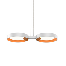 Sonneman 2653.03A - 2-Light LED Pendant
