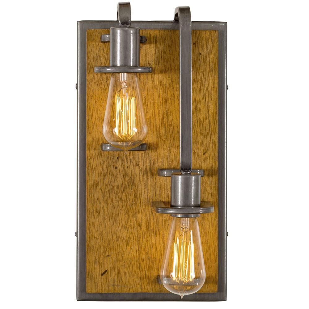 Lofty 2-Lt Right Wall Sconce : 268W02RSLW | Lighting Depot