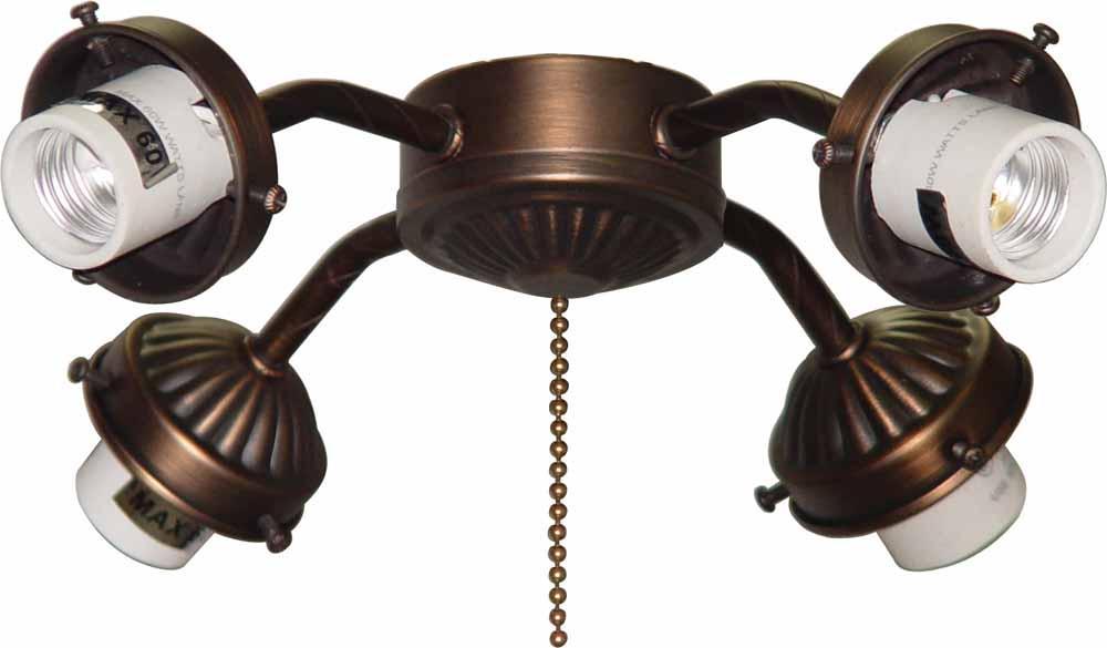 4 light antique bronze ceiling fan light kit v0904 79 lighting 4 light antique bronze ceiling fan light kit mozeypictures Images
