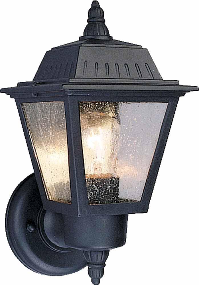 1 Light Black Outdoor Wall Sconce V8520 5 Lighting Depot