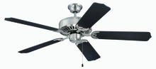 "Craftmade K11135 - Pro Builder 52"" Ceiling Fan Kit in Brushed Polished Nickel"