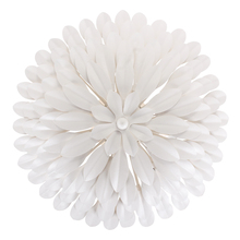 Crystorama 505-MT_WALL - Crystorama Broche 4 Light Matte White Sconce