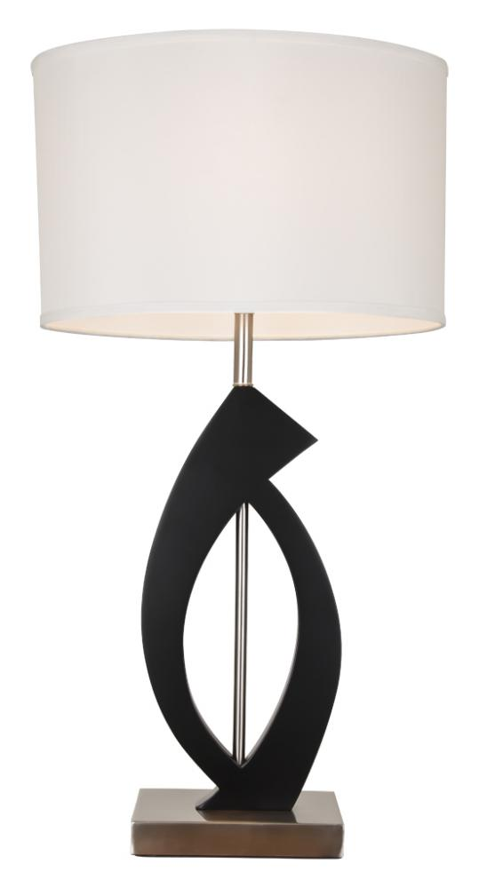One Light Espresso Offwhite Shade Table Lamp : DVP25T30 | Lighting ...