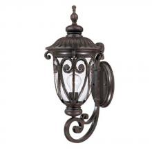 Acclaim Lighting 2111MM - Naples Collection Wall-Mount 1-Light Outdoor Marbleized Mahogany Light Fixture
