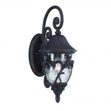 Acclaim Lighting 39202BC - Capri Collection Wall Lantern 1-Light Outdoor Black Coral Light Fixture