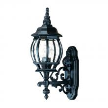 Acclaim Lighting 5150BK - Chateau Collection Wall-Mount 1-Light Outdoor Matte Black Light Fixture