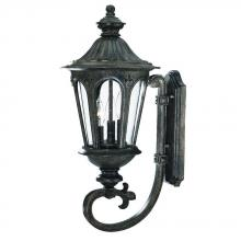 Acclaim Lighting 61561BC - Marietta Collection Wall-Mount 3-Light Outdoor Black Coral Light Fixture