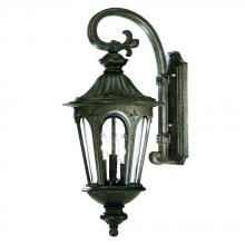 Acclaim Lighting 61562BC - Marietta Collection Wall-Mount 3-Light Outdoor Black Coral Light Fixture