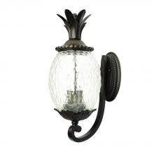 Acclaim Lighting 7511BC - Lanai Collection Wall-Mount 3-Light Outdoor Black Coral Light Fixture