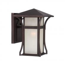 Acclaim Lighting 96022ABZ - Tahiti Collection Wall-Mount 1-Light Outdoor Architectural Bronze Light Fixture