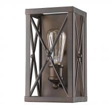 Acclaim Lighting IN41120ORB - Brooklyn Indoor 1-Light Sconce In Oil Rubbed Bronze