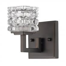 Acclaim Lighting IN41315ORB - Coralie Indoor 1-Light Sconce W/Crystal Glass Shade In Oil Rubbed Bronze