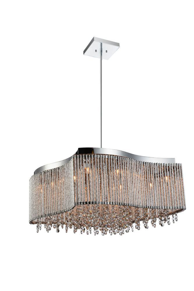 6 Light Chrome Drum Shade Chandelier from our Claire collection  sc 1 st  Lighting Depot & 6 Light Chrome Drum Shade Chandelier from our Claire collection ... azcodes.com