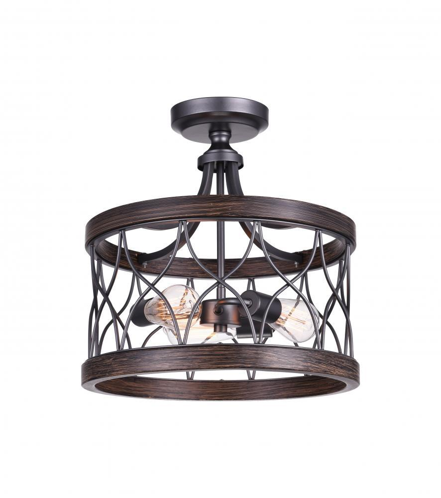 millennium rubbed pd mount industrial standard lighting in light cage w bronze neo shop flush