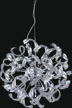 Crystal World 5067P19C - 12 Light Chrome Chandelier from our Swivel collection