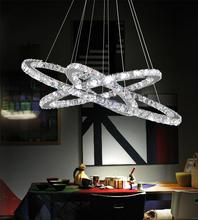Crystal World 5080P32ST-3R - LED Chrome Chandelier from our Ring collection