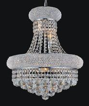 Crystal World 8001P20C - 14 Light Chrome Down Chandelier from our Empire collection