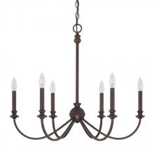 Capital 4746BB-000 - 6 Light Chandelier