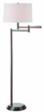 Kenroy Home 20941BS - Theta Swing Arm Floor Lamp