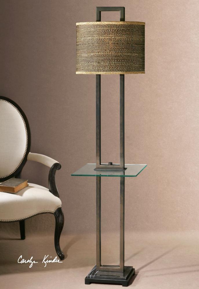 Uttermost Stabina End Table Floor Lamp