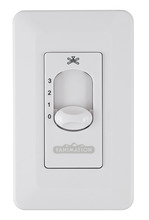 Fanimation CW5WH - Wall Control Non-Reversing - Fan Speed Only - WH