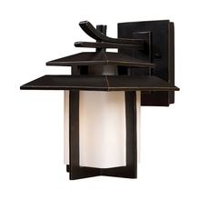 ELK Lighting 42170/1 - Kanso 1 Light Outdoor Sconce In Hazlenut Bronze