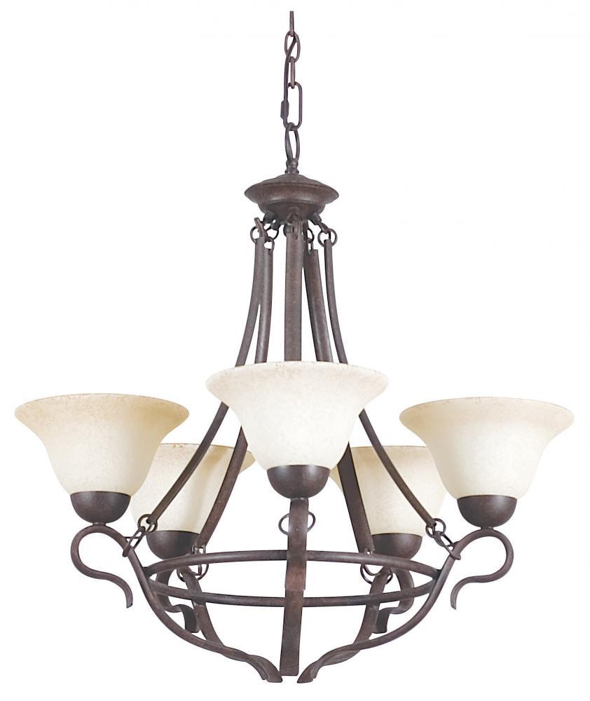 5 lt 100w mb venice chandelier