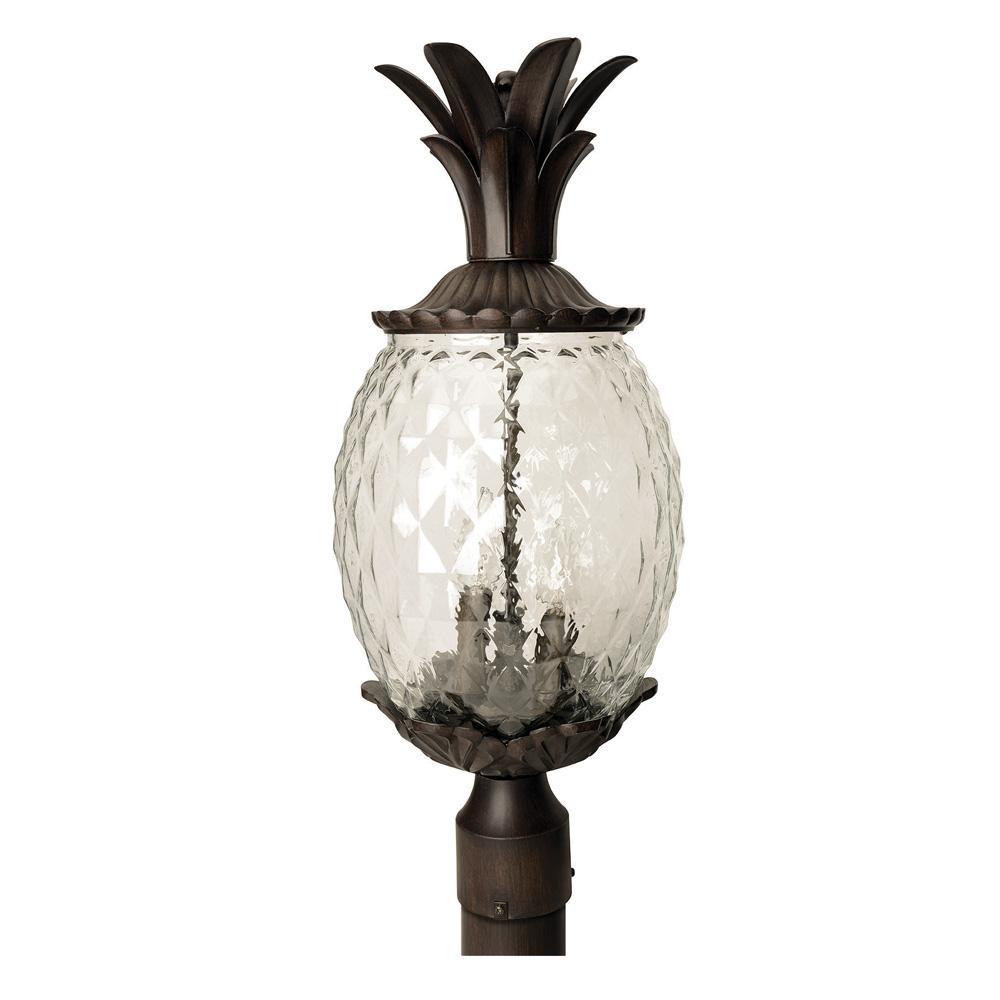 Acclaim 7511BC Lanai Collection 3-Light Wall Mount Outdoor Light Fixture Black